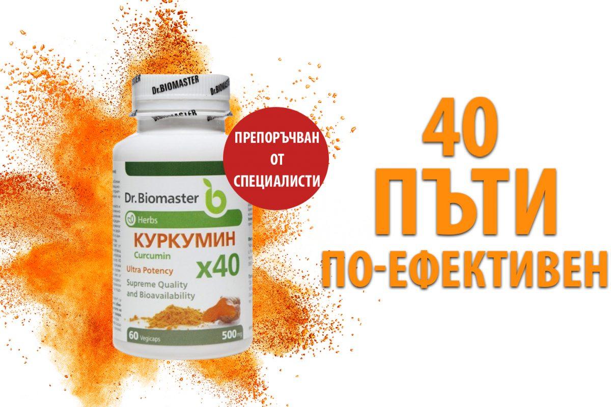 Др. Биомастер – Куркумин х40