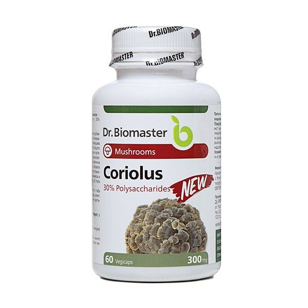 Кориолус – екстракт (30% полизахариди)